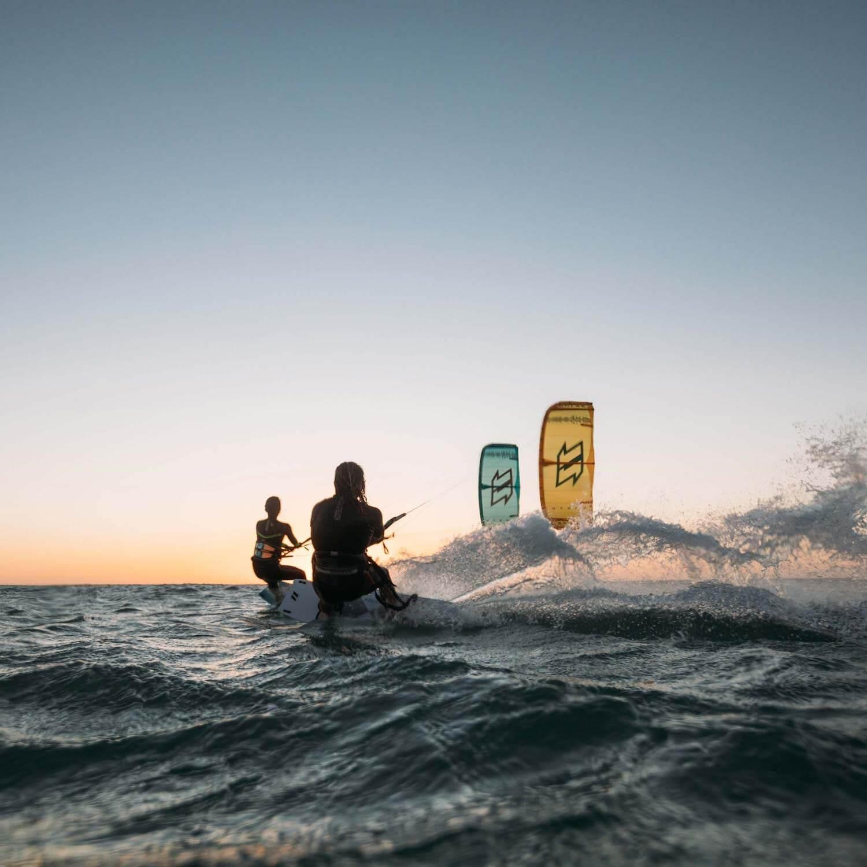 Kitesurfing Surfant Kiteboard Eau Surf Sport Porte-Clé Acier Inoxydable